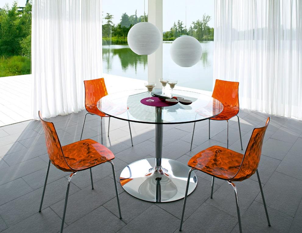 Calligaris Planet Cs 4005 Vs Round Table Star Modern Furniture