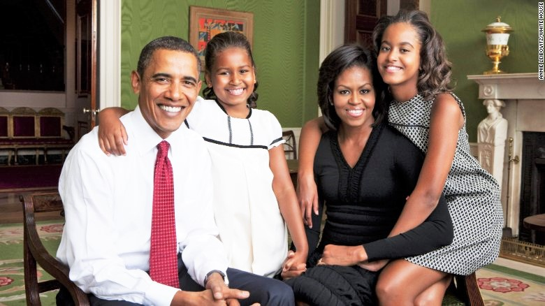 Barack Obama family: siblings, parents, children, wife