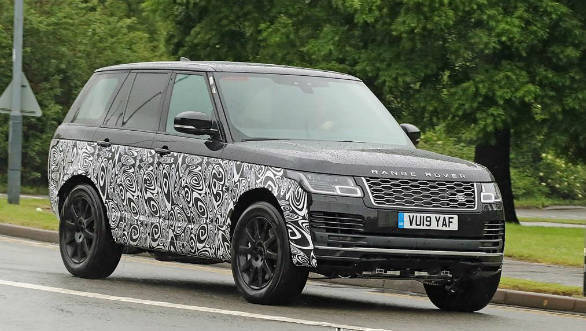 Next Generation 2022 Range Rover Suv Spotted Testing