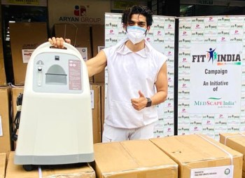 Gurmeet Choudhary organises oxygen concentrators from Indonesia to reach India and launches the Gurmeet Choudhary Foundation : Bollywood News – Bollywood Hungama