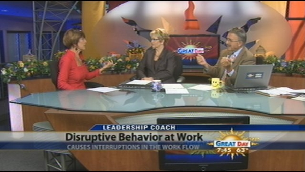 Disruptive Behavior In The Workplace Kmph