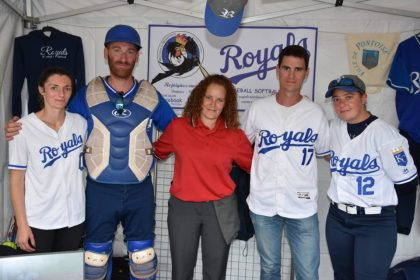 Val d'Oise.  Baseball and softball: blended sports activities in Pontoise