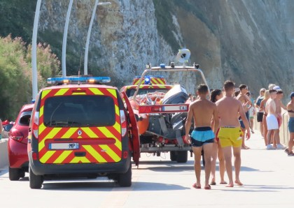A swimmer in issue rescued by a witness in Pourville, close Dieppe