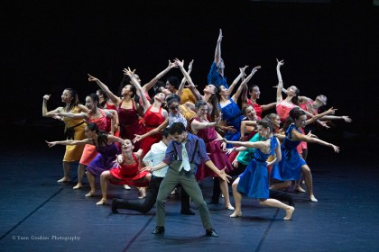 Saint-Orens: homage to American dance with a parallel tale of the dance of the François Mauduit firm