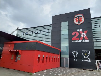 Rugby.  Ernest Wallon bought out the tickets for Toulouse-Toulon, what matches within the Stadium this season?