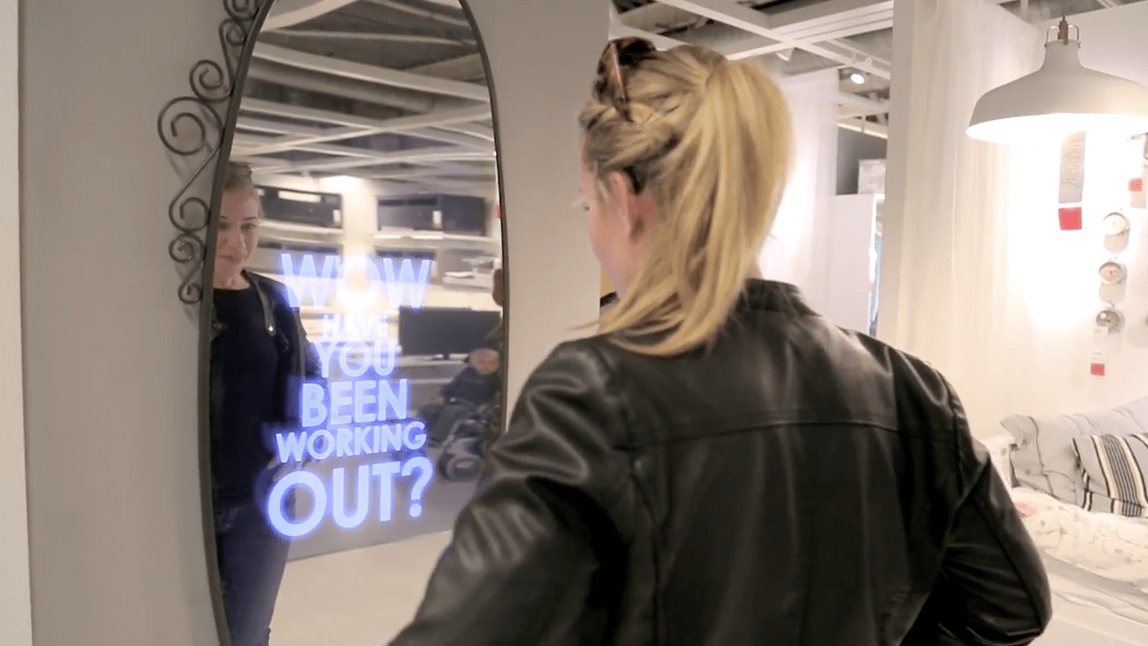 Ikea Gets Dove Like With A Mirror That Tells You How