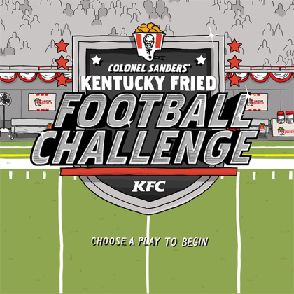 KFC Will Bring Gaming to Instagram With the  Kentucky Fried Football     Branded play timed for postseason action