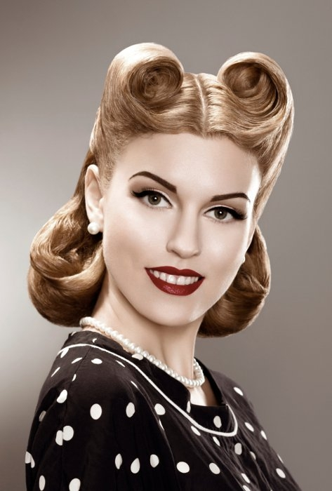 50s Hairstyles: Short Pin Up Hairstyles|