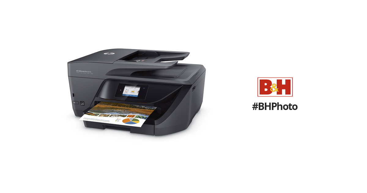 Hp Officejet Pro 6978 All In One Inkjet Printer T0f29a B1h B Amp H