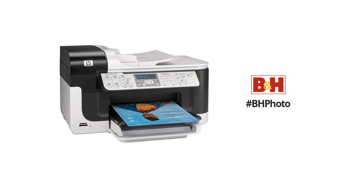 Hp Officejet 6500 Wired All In One Printer Cb815a B1h B Amp H