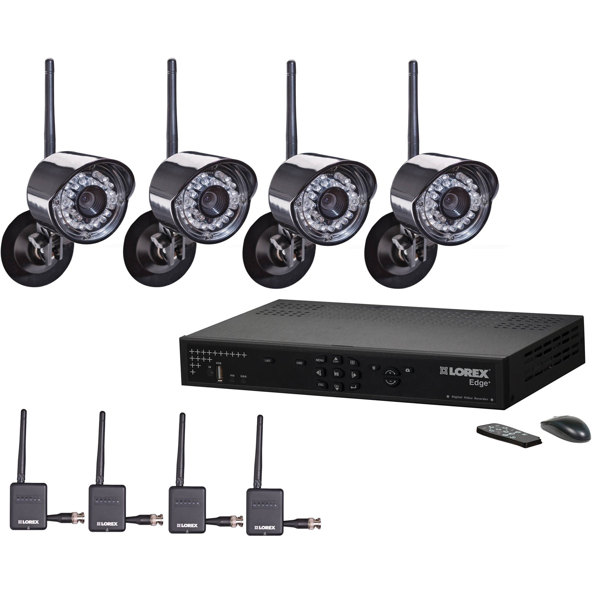 Lorex Wireless Security 4 Channel Dvr