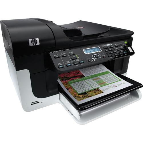 Hp Officejet 6500 Wireless All In One Printer Cb057a B1h B Amp H
