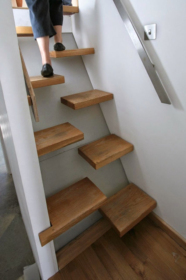 22 Beautiful Stairs That Will Make Climbing To The Second Floor | Duplex House Steps Design | New | Cement | Wood | Spiral Staircase | Steel