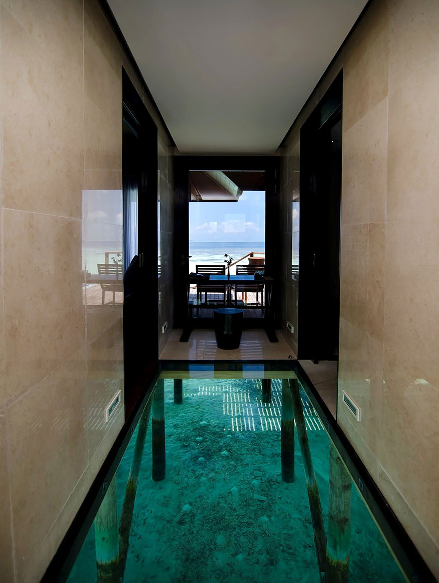 22  Stunning Interior Design Ideas That Will Take Your House To      2 Glass Floor Over Water