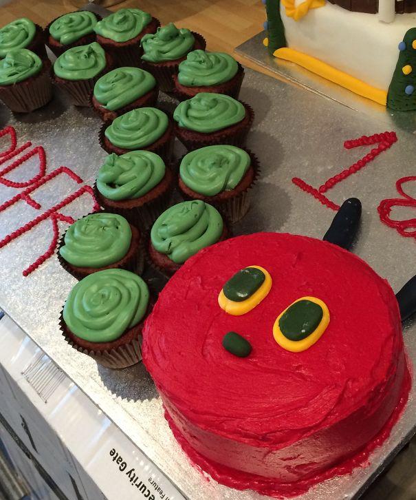 Hungry Caterpillar 1st Birthday Svg