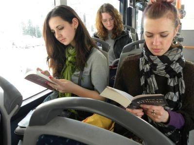 Romanian City Gives Free Bus Rides To Passengers Who Read ...