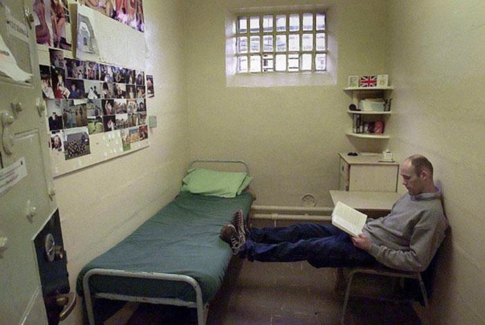 D 252 Nyanın D 246 Rt Bir Yanından Hapishane Manzaraları
