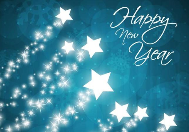 Star Filled Happy New Year Background   Free Photoshop Brushes at     Star Filled Happy New Year Background