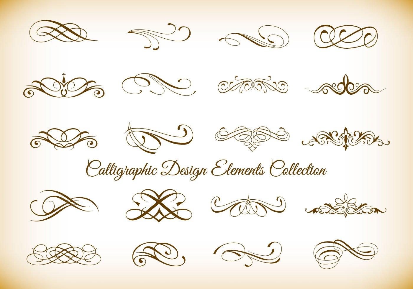 Decorative Art Elements Clip