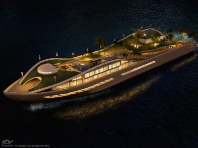 This Incredible Yacht Concept Is Basically A True Floating ...