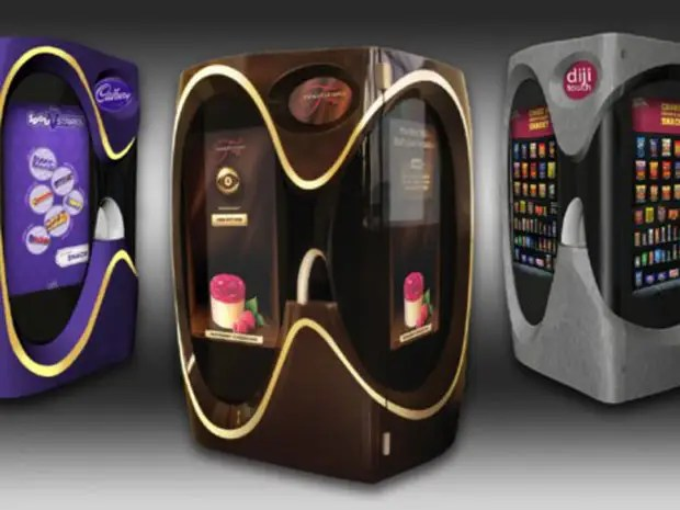 Behold The High Tech Future Of Vending Machines Business