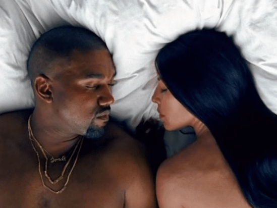 Kanye West  Famous  video lawsuits   Business Insider kanye west kim kardashian famous video