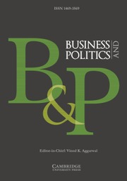 Business and Politics   Cambridge Core Business and Politics