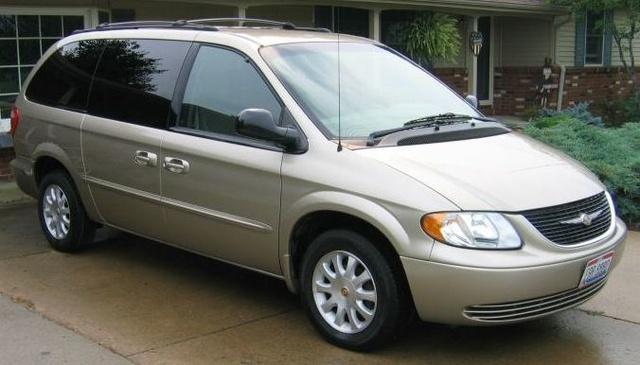 2000 Dodge Grand Caravan Se Inside