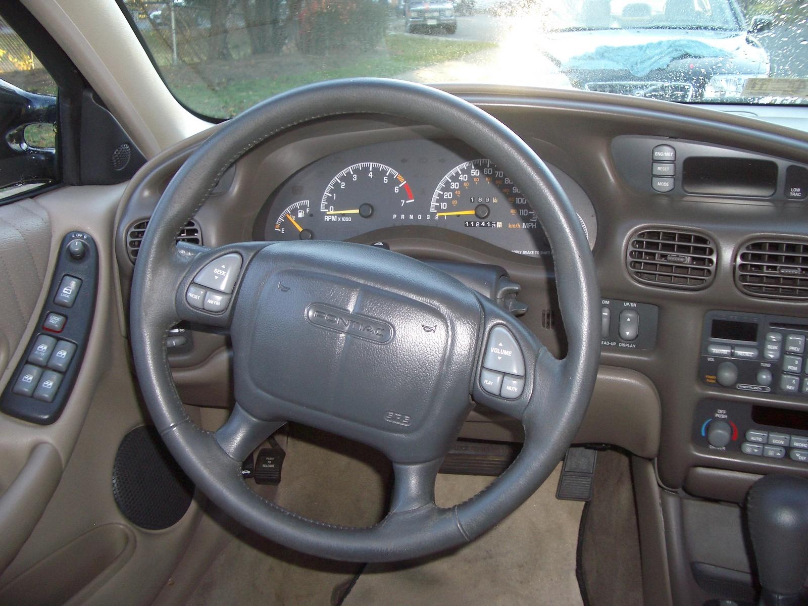 1998 Pontiac Grand Am Gt Interior