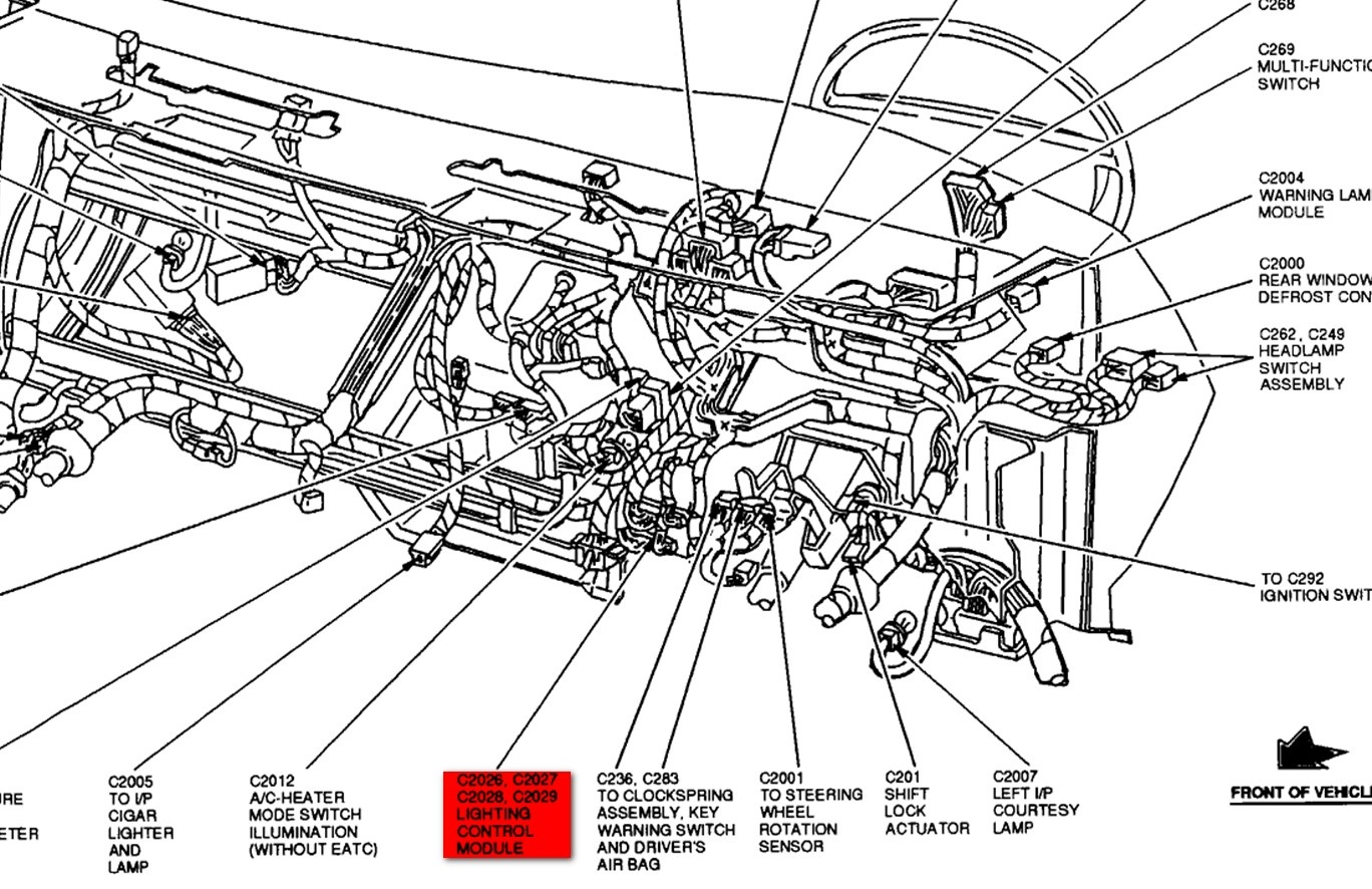 2008 Ford Crown Vic Fuse Box Diagram