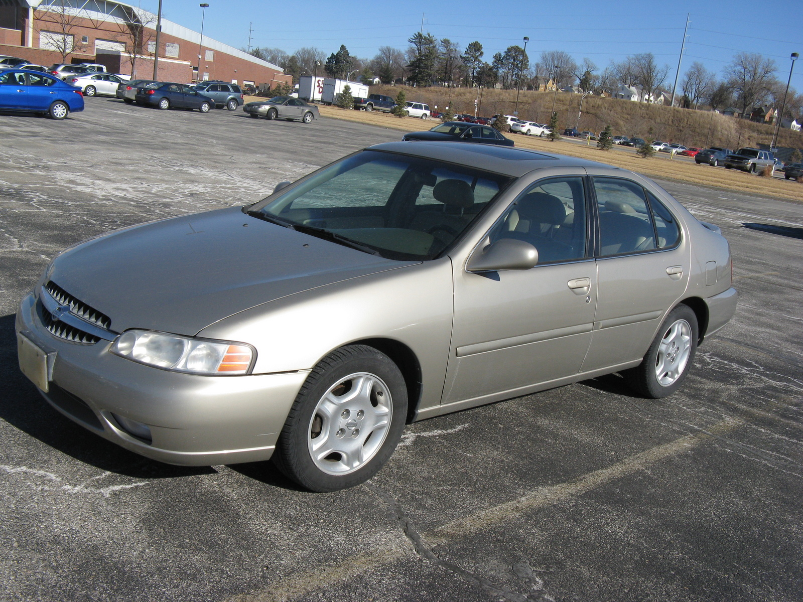 Used Nissan Altima Gxe 1998