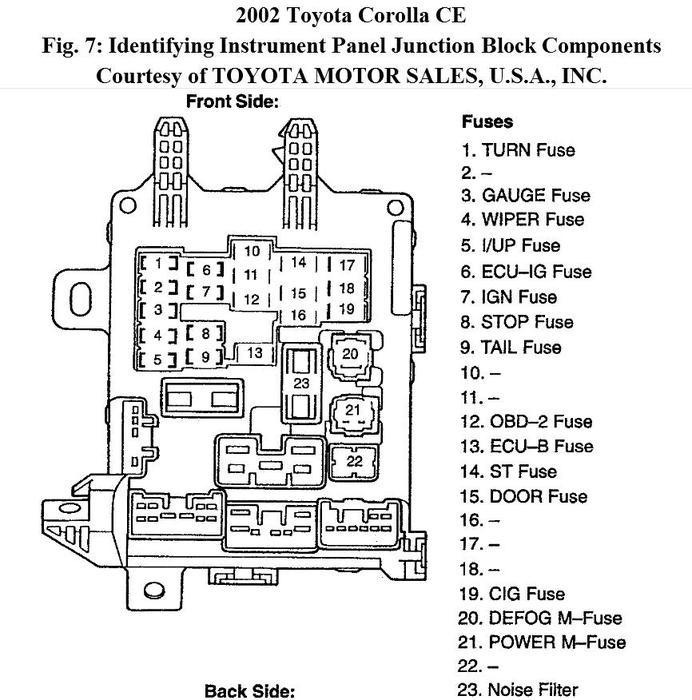 Pump Honda Fuel Accord Relay 2003 Location