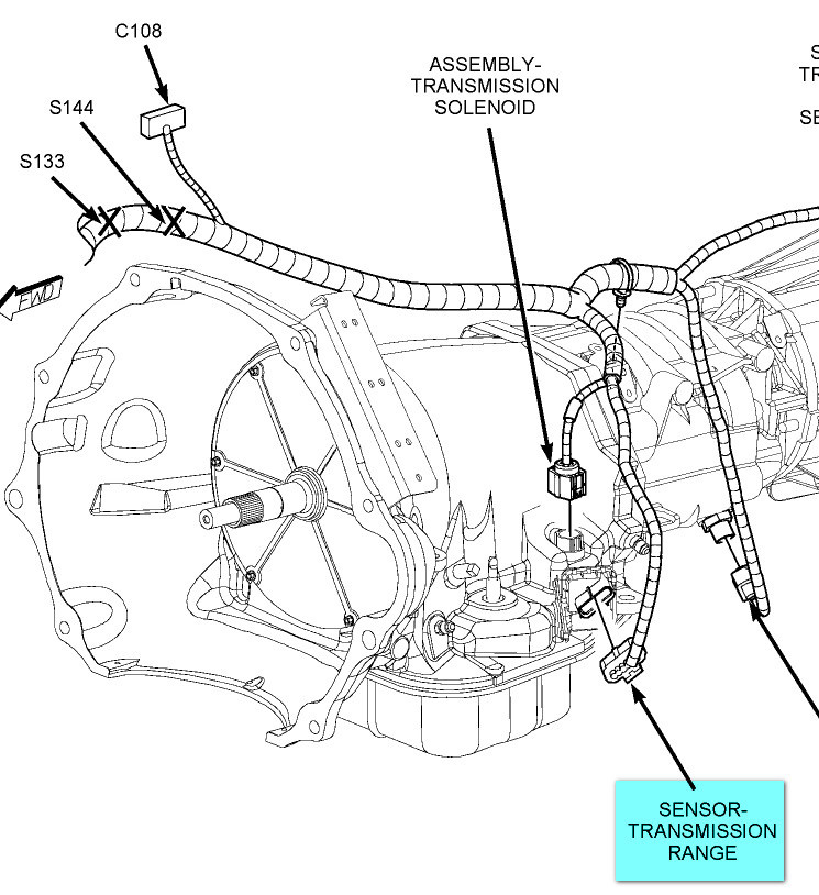 2007 Dodge 2500 Transmission Line Diagram
