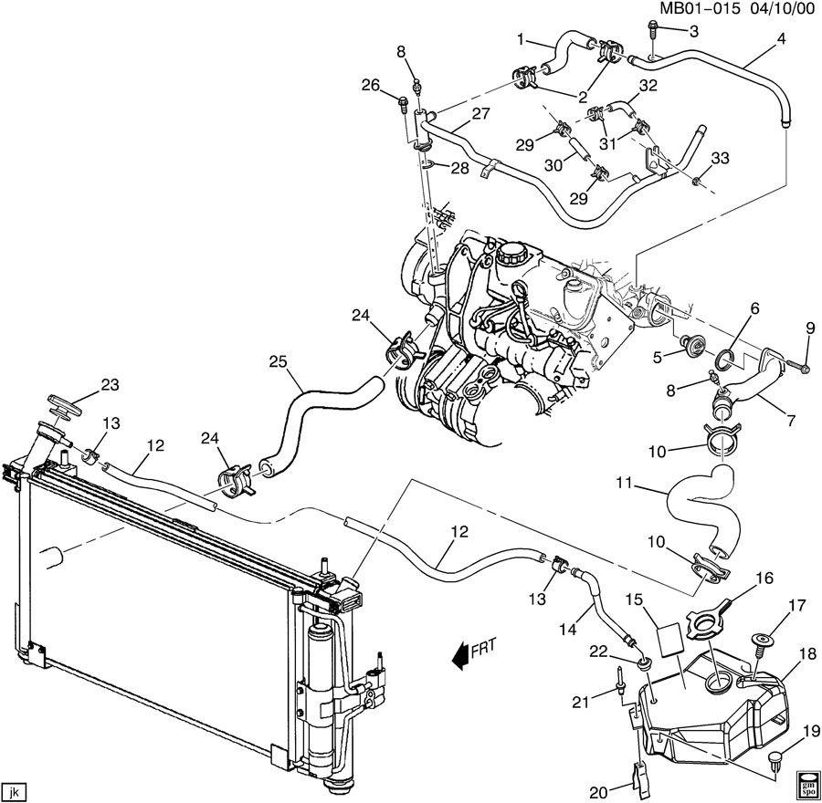 1999 Dodge Grand Caravan Engine Diagram