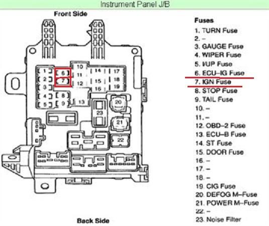 Location Corolla Rear Heater 2014 Toyota
