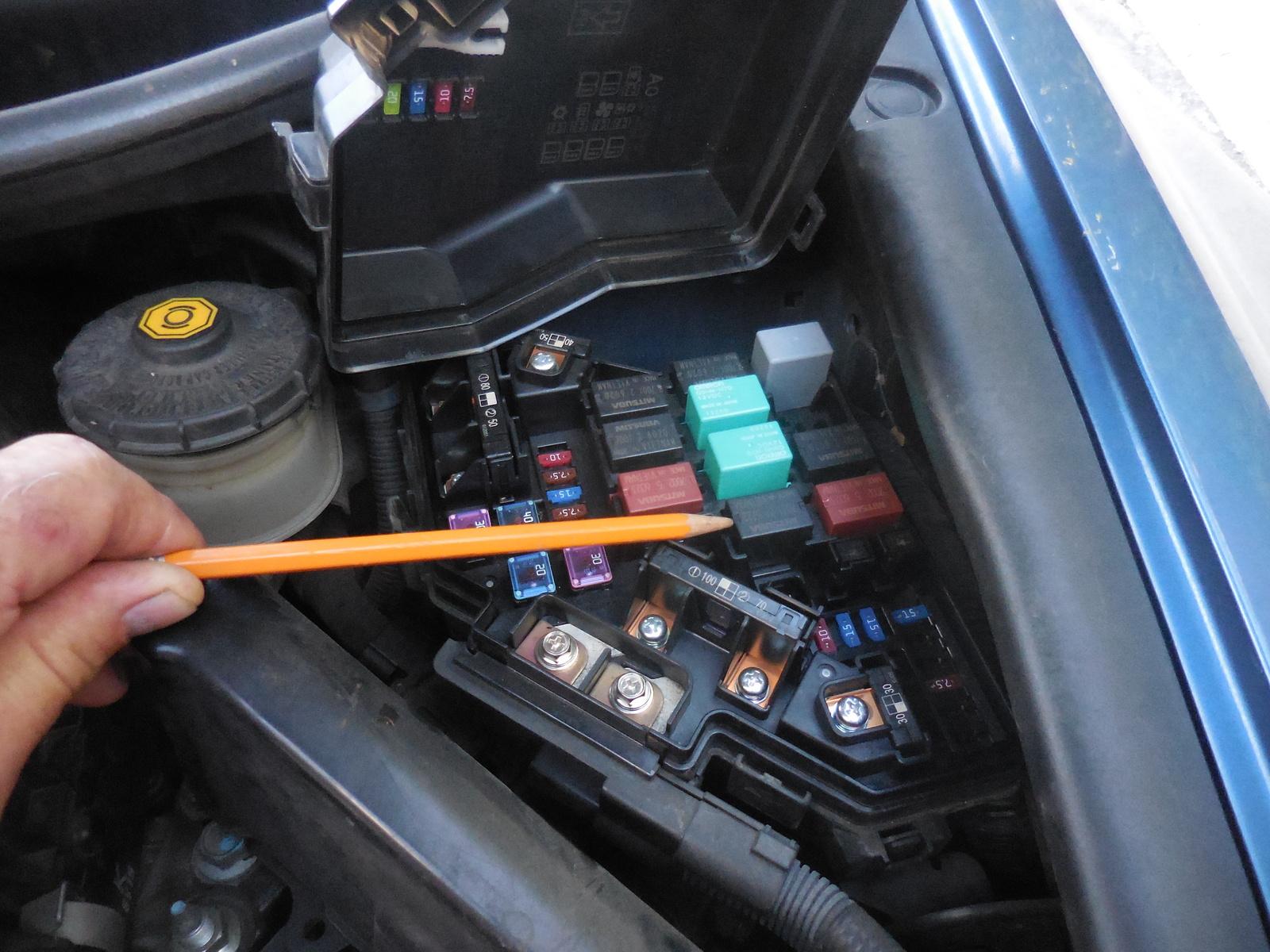 2004 Honda Pilot Relay Box