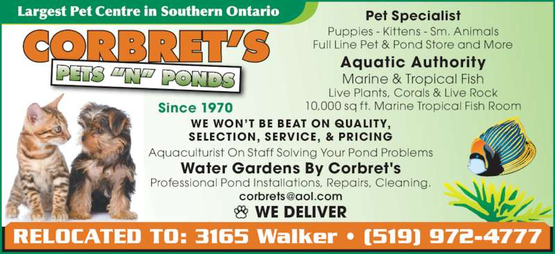 Pond Supplies Windsor