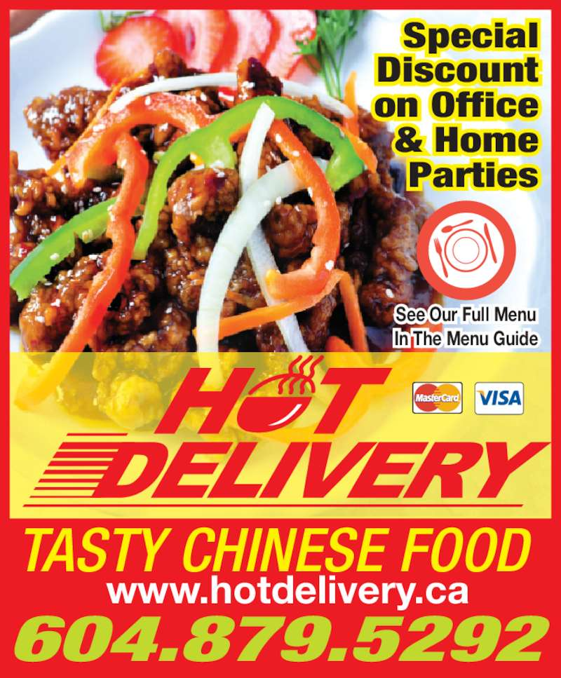 Chinese Food Catering Services