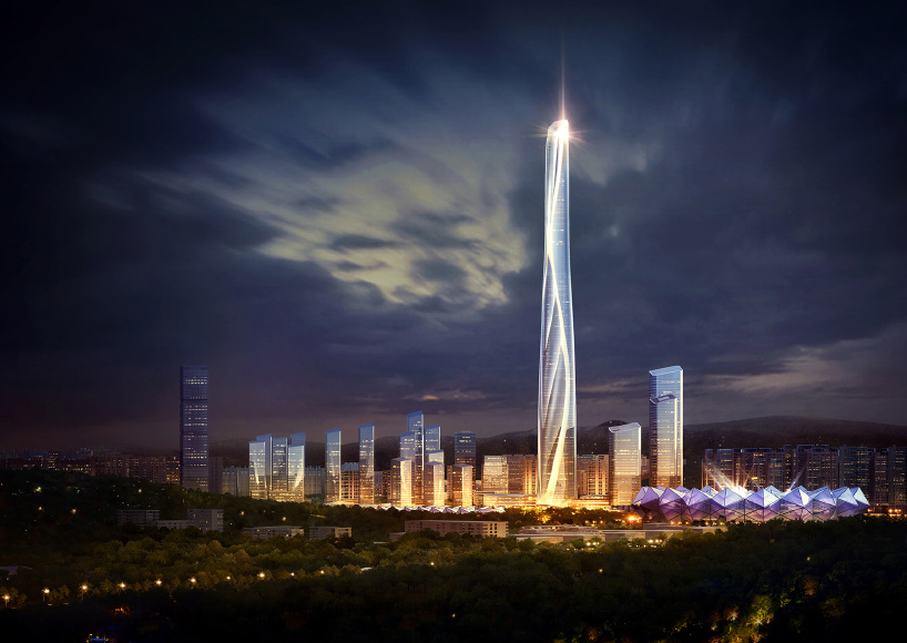 China S Tallest Building As Gg Reveals Plans For 700
