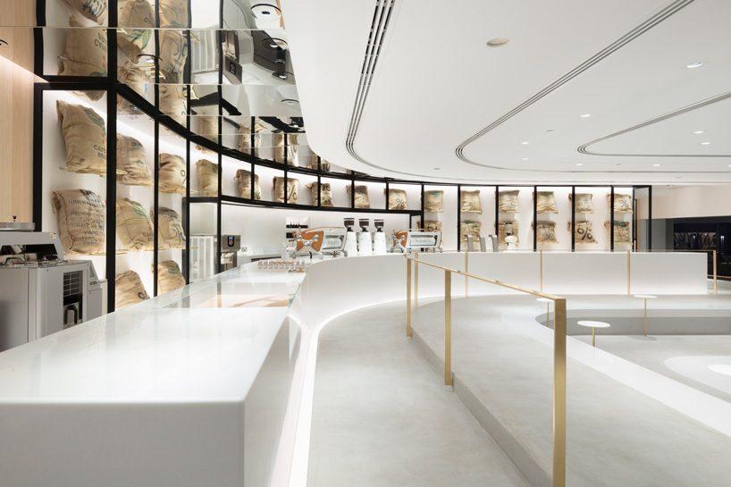 Nendo Designs Stair Like Interior For Arabica Coffee