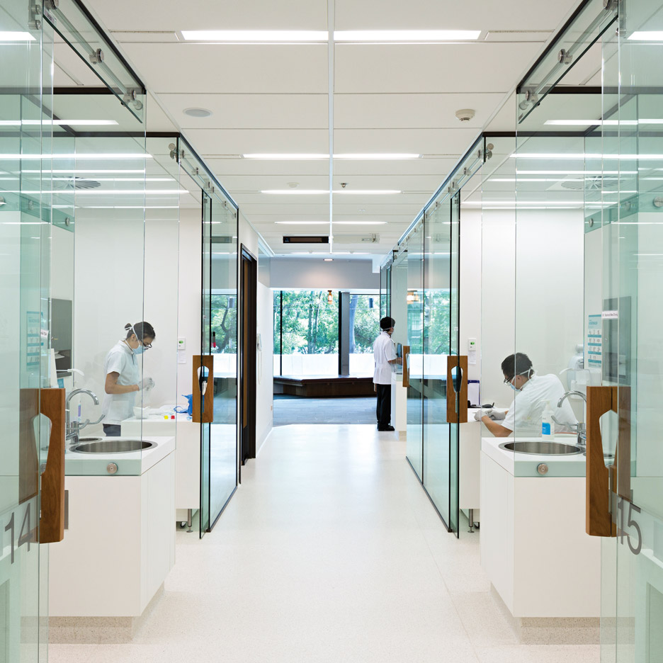 Workplace interior design industry in Australia is booming The University of Queensland Oral Health Centre by Cox Rayner Architects  won the health and education category at Inside Festival