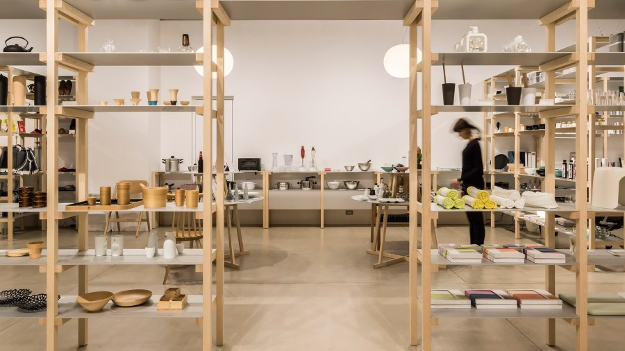 Jasper Morrison creates house like layout for Tokyo s Good Design Store
