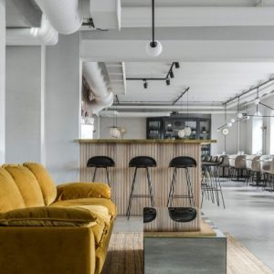 Restaurant interiors and architecture   Dezeen Farm to table cooking informs natural colour palette of Maannos restaurant  in Helsinki