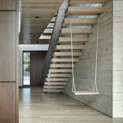 Staircase Design Dezeen   Exterior Staircase Designs For Indian Homes   House   Apartment   Grill   Step   Wall