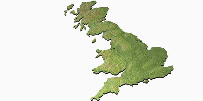 And Between Difference British Uk Great Isles Britain