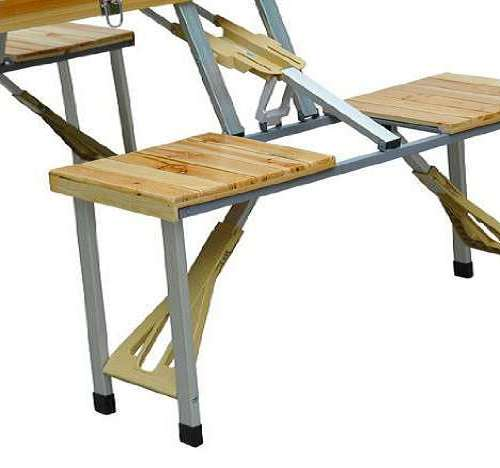 Picnic Table In A Briefcase Dudeiwantthat Com