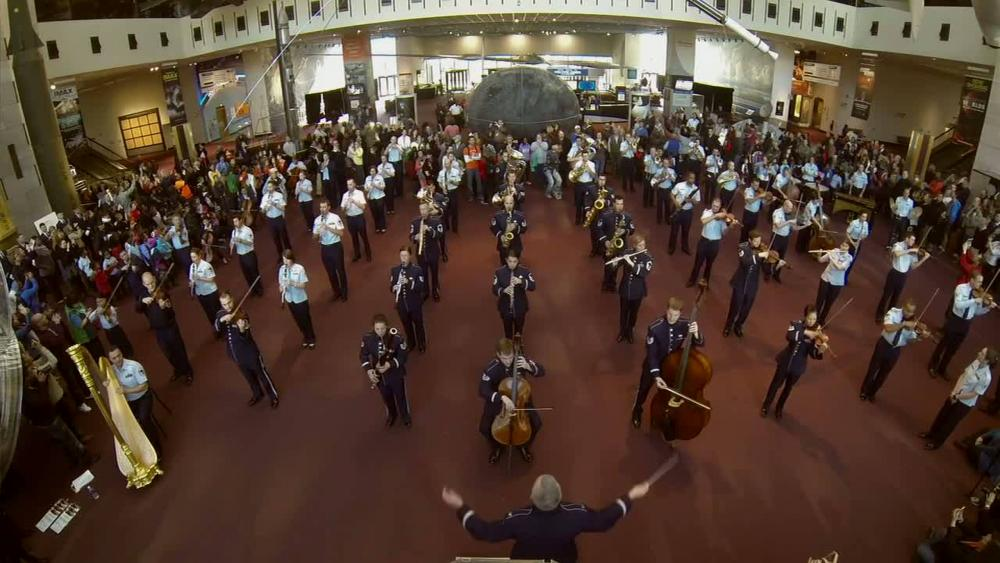Dvids Video Flash Mob The United States Air Force