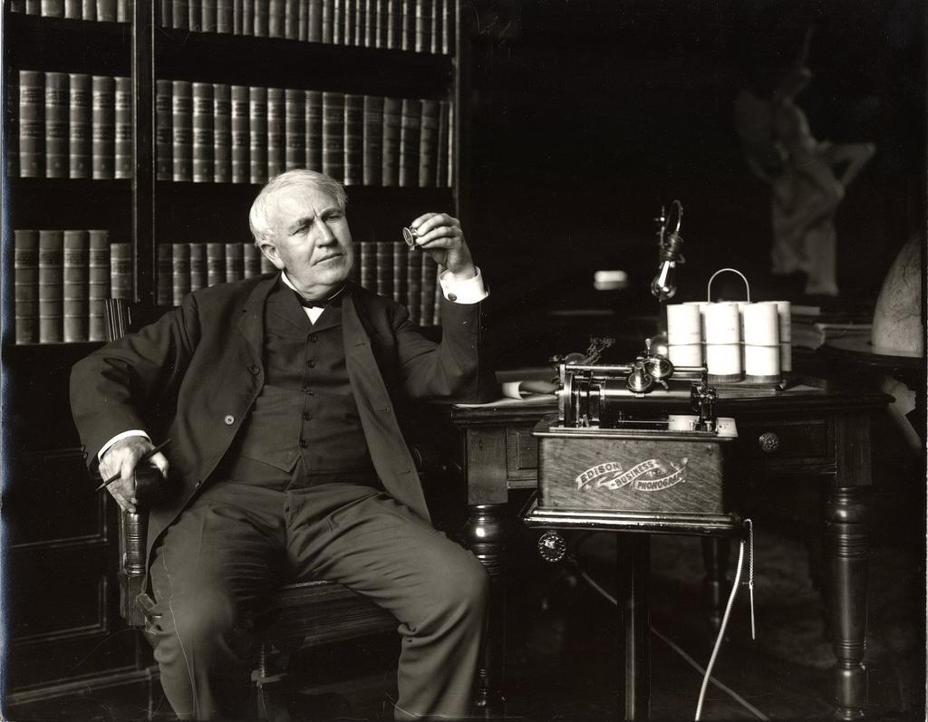 Thomas Edison Light Bulb Images
