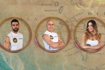 Isola dei famosi 2021, nominati Gilles Rocca, Roberto Ciufoli e Rosaria Cannavò: chi vuoi eliminare?