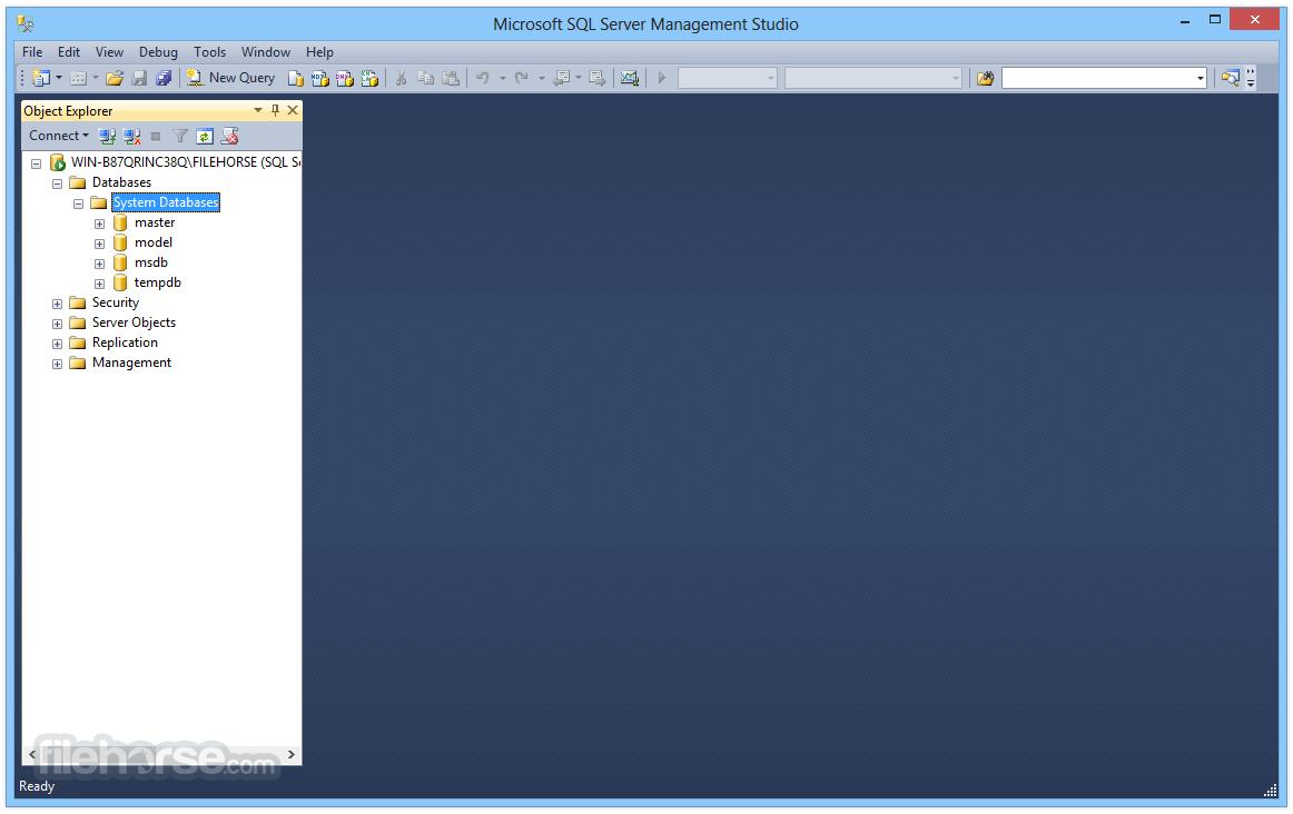 Database Software Windows 7